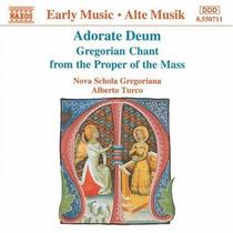 Cd Nova Schola Gregoriana - Adorate Deum Gregorian Chant