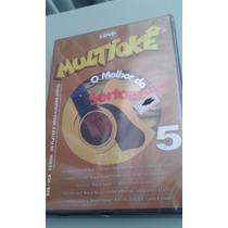 Dvd Karaoke Multioke Sertanejo Cante Cerveja Novo