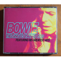 David Bowie - The Singles 1969-1993 (2 Cd) Made Usa Lacrado