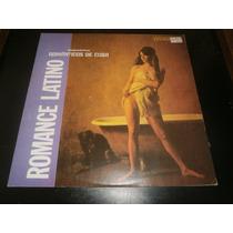 Lp Orquestra Românticos De Cuba - Romance Latino, Vinil