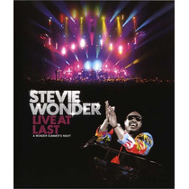 Blu-ray Stevie Wonder - Live At Last * Lacrado * Original