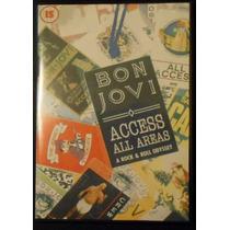 Dvd Bon Jovi Access All Areas - Digitalizado - Legendado