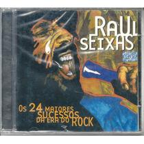 Cd-raul Seixas-os 24 Maiores Sucessos Da Era Do Rock-raro