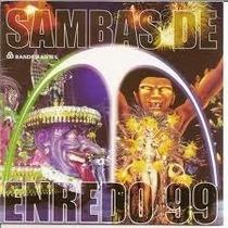 Cd Sambas De Enredo Carnaval 1999 Rio De Janeiro