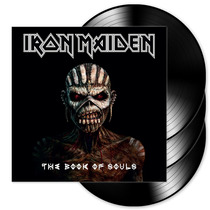 Vinil Triplo Iron Maiden - The Book Of Souls [europeu]