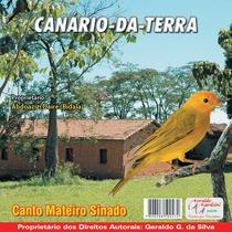 Cd Canto -de Canário Da Terra Canto Mateiro Sinado