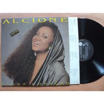 Alcione- Lp Pulsa Coração- 1992- Original- Encarte!