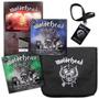 Motorhead Motor-bag 4 Lps + Bolsa + Credencial + Backdrop