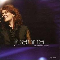 Cd Lacrado Joanna Em Pintura Intima Ao Vivo 2007