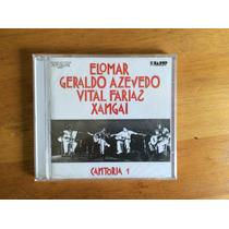 Cantoria 1 Cd - Geraldo Azevedo, Xangai, Vital Faria, Elomar