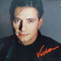 Lp Disco Vinil Fábio Junior Vida 1988 Com Encarte