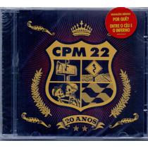 Cd Cpm 22 - 20 Anos (lacrado) Sucessos + Gravações Inéditas