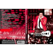 Cd E Dvd Cristiano Araujo Em Goiania E In The Cities