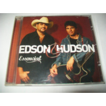 Cd Edson & Hudson - Essencial** Excelente Estado
