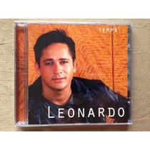 Cd Leonardo - Tempo * 1ª Edição (1999) * Lacrado * Raridade