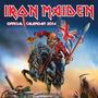 Iron Maiden 0 Calendário Oficial 2014