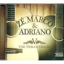 Cd Zé Marco & Adriano - Voz, Viola E Violão / Bônus Playback