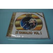 Coletânea Volume-1 Com Grandes Sucessos Do Cantor Zé Ramalho