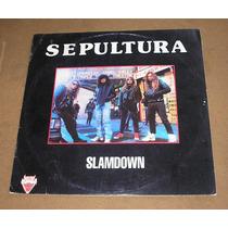 Sepultura - Lp Slamdown - Importado Da Alemanha