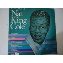Disco Vinil Lp O Melhor De Nat King Cole ##