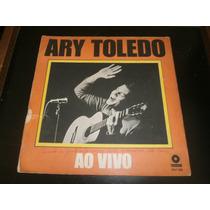 Lp Ary Toledo Ao Vivo, Disco Vinil De Piadas, Ano 1969