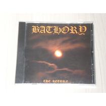 Cd Bathory - The Return (sueco, Lacrado) Raro