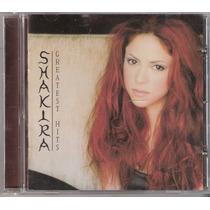 Cd Shakira - Greatest Hits ( Som Livre 2003 )