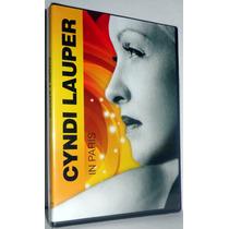 Dvd Cyndi Lauper - In Paris