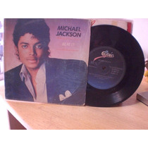 Michael Jackson Compacto Beat It Get On The Floor Selo Epi