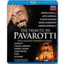 Blu-ray The Tribute To Pavarotti - Bocelli Carreras Placido