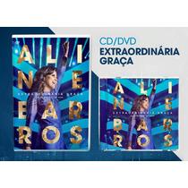 Cd/dvd Aline Barros - Extraordinária Graça [original]