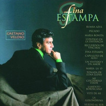 Cd Caetano Veloso - Fina Estampa