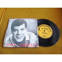 Compacto Single Tony Campello Tchin Come Jovem Guarda