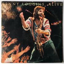 Lp Kenny Loggins - Alive - Capa E Disco Duplo - 2 Encartes