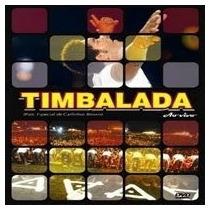 Cd Timbalada Ao Vivo Com Carlinhos Brown (original Lacrado)