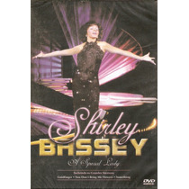 Dvd Shirley Bassey - A Special Lady - Novo***