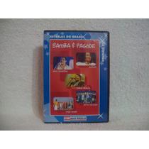 Dvd Samba & Pagode- Estrelas Do Brasil- Raça Negra, Alcione