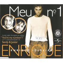 Cd Single Enrique Iglesias/sandy & Junior You