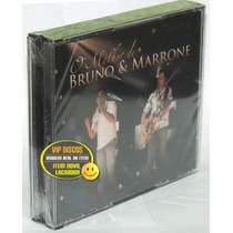 Dvd Bruno E Marrone Box Dvd + 2 Cds - Novo Lacrado Raro