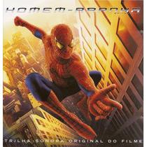Cd Lacrado Homem Aranha Trilha Sonora Do Filme 2002