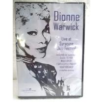Dionne Warwick Live At Syracuse Jazz Festival Dvd Original