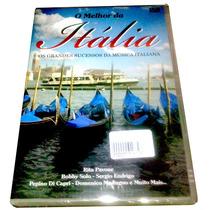 Dvd Melhor Itália 1 = Bobby Solo Sergio Endrigo Rita Pavone