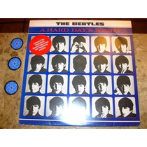 Lp Beatles - Hard Days Night (1964) Remaster C/ Lennon