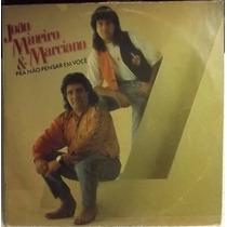 Lp / Vinil Sertanejo: João Mineiro & Marciano - 1991
