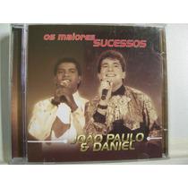 João Paulo E Daniel, Os Maiores Sucessos, Cd Original Raro