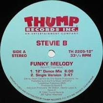 Disco Vinil Importado Stevie B Funk Melody