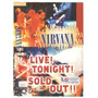 Vhs Nirvana Live Tonight Sold Out /original /usado