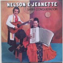 Lp Nelson E Jeanette (1975) Sabiá Conquistador