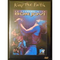 Dvd Bon Jovi Keep The Faith An Evening With - Digitializado