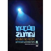 Dvd Nação Zumbi Ao Vivo No Recife Novo Original